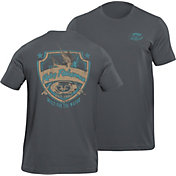 Flying Fisherman Men's Shield T-Shirt