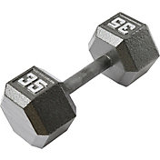 Fitness Gear 35 lb Cast Hex Dumbbell