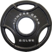 Fitness Gear 2.5 lb Olympic Cast Plate