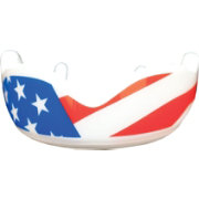 Fightdentist Adult Pro Stars & Stripes Strapless Mouthguard