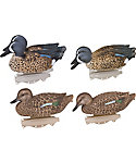 Flambeau Storm Front Classic Blue Winged Teal Duck Decoys - 6 Pack