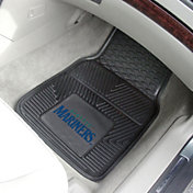 FANMATS Seattle Mariners Heavy Duty Vinyl Car Mats 2-Pack