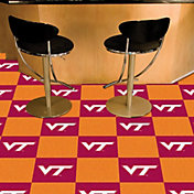 FANMATS Virginia Tech Hokies Team Carpet Tiles