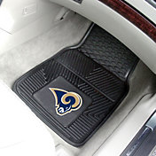 FANMATS Los Angeles Rams 2-Piece Heavy Duty Vinyl Car Mat Set