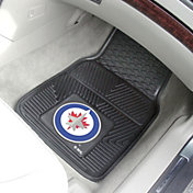 FANMATS Winnipeg Jets 2 Piece Heavy Duty Vinyl Car Mat Set