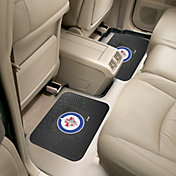 FANMATS Winnipeg Jets Two Pack Backseat Utility Mats
