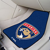 FANMATS Florida Panthers Two Piece Printed Carpet Car Mat Set