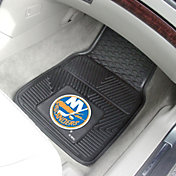 New York Islanders Two Piece Heavy Duty Vinyl Car Mat Set
