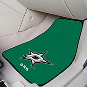 Dallas Stars Two Piece Printed Carpet Car Mat Set