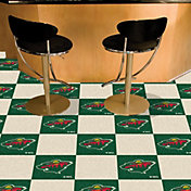 FANMATS Minnesota Wild Carpet Tiles