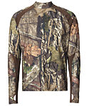 Field & Stream Men's Base Defense Midweight Mock Base Layer Shirt