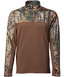 Field & Stream Men's Base Defense Expedition Weight 1/4 Zip Base Layer Pullover