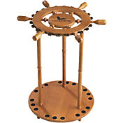 Field & Stream Ship's Wheel 18-Rod Rack