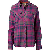 Field & Stream Women's Heritage Midweight Flannel Long Sleeve Shirt