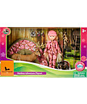 "Field & Stream 10"" Hunting Doll Set"