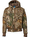 Field & Stream Boys' Twill Bomber Insulated Hunting Jacket