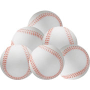 First Practice Contact-Soft Practice Baseballs – 6 Pack