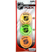 Franklin NHL Street Hockey Puck Combo Pack – 3 Pack