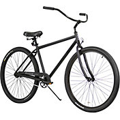 Firmstrong Adult 29'' Black Rock Single Speed Beach Cruiser Bike