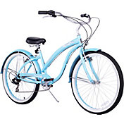 Firmstrong Women's Bella Classic Seven Speed Beach Cruiser Bike