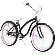 Firmstrong Women's Bella Fashionista Three Speed Beach Cruiser Bike