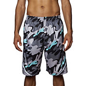 Flow Society Men's Bubble Camo Competitor Shorts