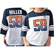 G-III for Her Women's Denver Broncos Von Miller #58 Knit Jersey Top