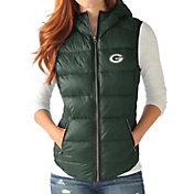 G-III for Her Women's Green Bay Packers Free Agent Green Packable Vest