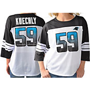 G-III for Her Women's Carolina Panthers Luke Kuechly #59 Knit Jersey Top