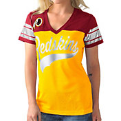 G-III for Her Women's Washington Redskins Pass Rush Jersey Top