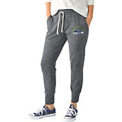 G-III for Her Women's Seattle Seahawks Tri-Blend Playoff Grey Jogger Pants