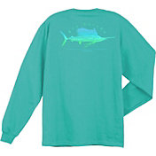 Guy Harvey Sailfish Scribble Long Sleeve Shirt