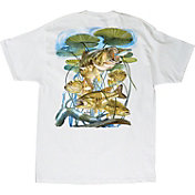 Guy Harvey Men's Largemouth Lillies T-Shirt