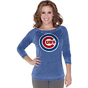 Touch by Alyssa Milano Women's Chicago Cubs Royal Long Sleeve Shirt