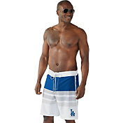 G-III Men's Los Angeles Dodgers Centerfield Swim Trunks