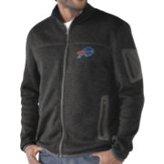 G-III Men's Buffalo Bills Campfire Full-Zip Charcoal Jacket