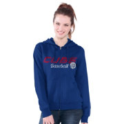 Touch by Alyssa Milano Women's Chicago Cubs Royal Full-Zip Hoodie