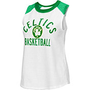 G-III Women's Boston Celtics White Audible Tank Top