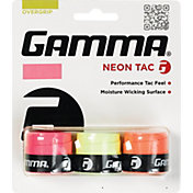 GAMMA Neon Tac Overgrips – 3 Pack