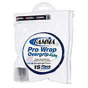 GAMMA Pro Wrap Overgrip Tour Pack - 15 Pack
