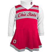 Gen2 Girls' Ohio State Buckeyes Scarlet Two-Piece Cheer Dress