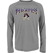 Gen2 Youth ECU Pirates Grey Fadeout Long Sleeve Shirt