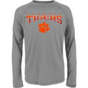Gen2 Youth Clemson Tigers Grey Fadeout Long Sleeve Shirt