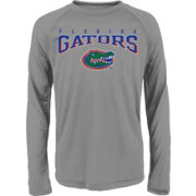 Gen2 Youth Florida Gators Grey Fadeout Long Sleeve Shirt