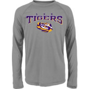 Gen2 Youth LSU Tigers Grey Fadeout Long Sleeve Shirt