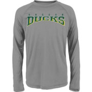 Gen2 Youth Oregon Ducks Grey Fadeout Long Sleeve Shirt