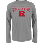 Gen2 Youth Rutgers Scarlet Knights Grey Fadeout Long Sleeve Shirt