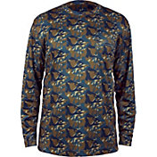 Grundéns Men's Fish Head Performance Long Sleeve Shirt