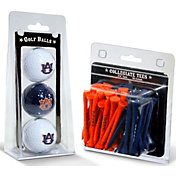 Team Golf Auburn Tigers Golf Ball and Tee Set