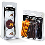 Team Golf Minnesota Golden Gophers Golf Ball and Tee Set